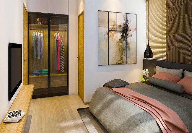 Phòng ngủ rộng rãi thoải mái