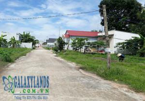 Bán đất đường DX 06 phường Phú Mỹ, Thủ Dầu Một