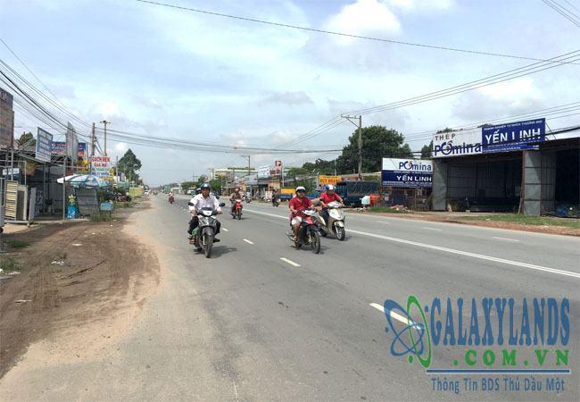 Bán đất mặt tiền đường Huỳnh Văn Lũy Thủ Dầu Một