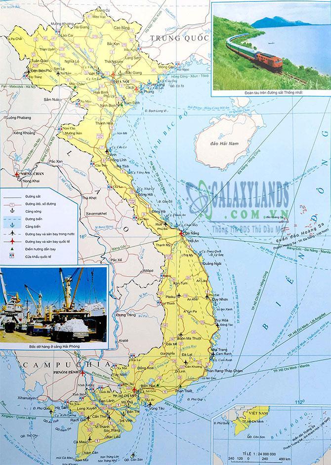 Bản đồ giao thông Việt Nam