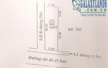Bán đất 2 mặt tiền đường vào khách sạn Hoàng Gia, DT: 106m2