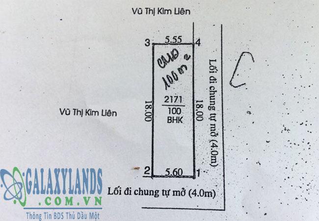 Bán đất Phú Mỹ nhánh DX06