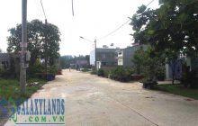 Bán đất mặt tiền Đường số 3 khu Tái Định Cư Tương Bình Hiệp.