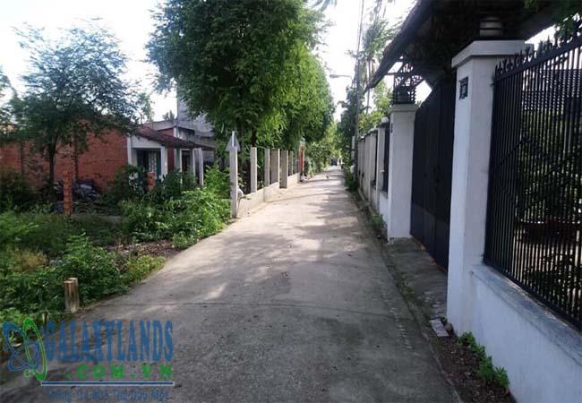 Bán đất Tân An đường DX120