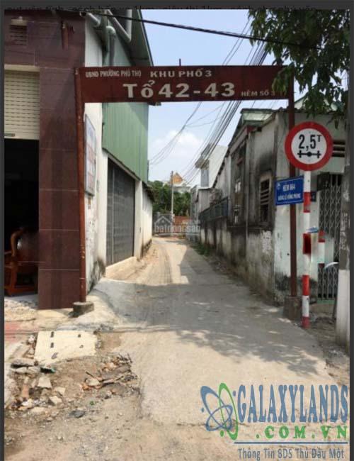 Bán đất Phú Thọ gần Uỷ ban nhân dân phường