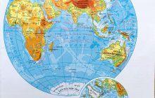 Bản đồ Thế Giới và bản đồ 6 Châu Lục Thế Giới phóng to