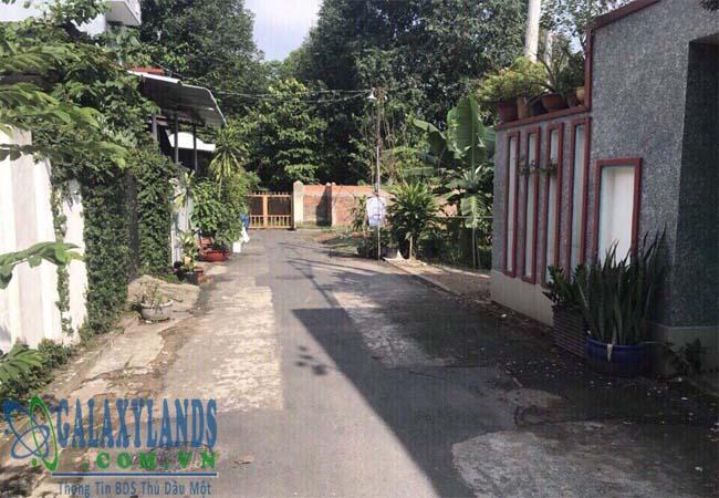 Bán đất hẻm Hoàng Hoa Thám phường Phú Lợi