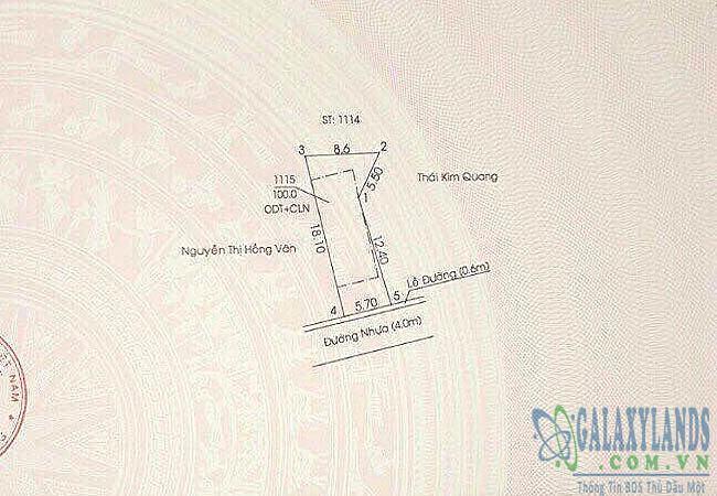 Bán đất hẻm đường Lê Hồng Phong phường Phú Thọ