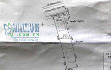 Bán đất mặt tiền đường DX27 Phú Mỹ Bình Dương 7x38m, 274m2, thổ cư 100m2