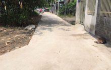 Bán đất 1 xẹc đường DX08 phường Phú Mỹ.