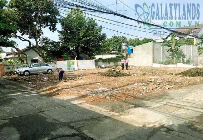 Bán đất đường Lê Thị Trung Phú Lợi