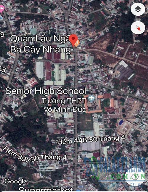 Bán đất phường Chánh Nghĩa Bình Dương.