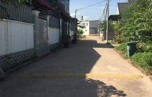 Bán đất nhánh DX06 phường Phú Mỹ, DT 189m2, đường 5m.