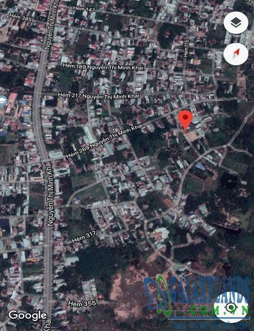 Bán đất hẻm 269 Nguyễn Thị Minh Khai Bình Dương