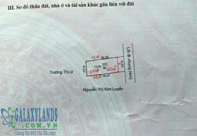 Bán đất hẻm 385 Lê Hồng Phong phường Phú Hòa
