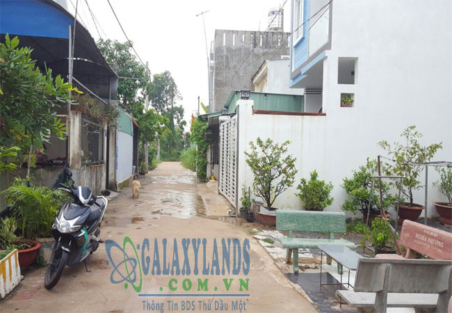 Bán đất đường DX02 phường Phú Mỹ.
