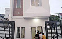 Bán nhà 1 trệt 1 lầu hẻm Huỳnh Văn Nghệ Phú Lợi, 4x14m