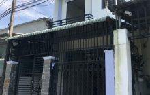 Bán nhà khu phố 3 phường Phú Hòa, 1 trệt 1 lầu.