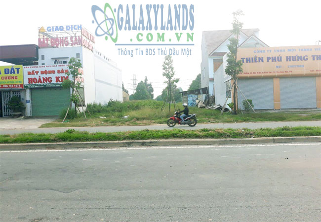Bán đất đường Võ Văn Kiệt Thành phố mới Bình Dương