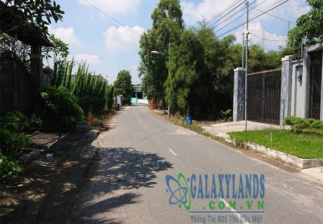 Bán đất đường DX39 phường Phú Mỹ Bình Dương