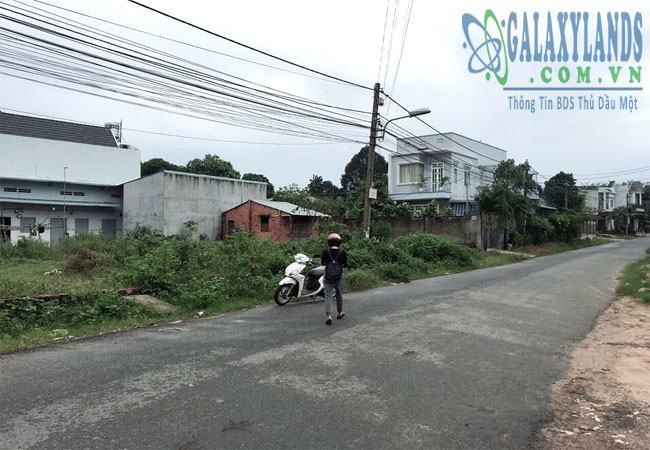 Bán đất đường Nguyễn Đức Thuận phường Hiệp Thành.