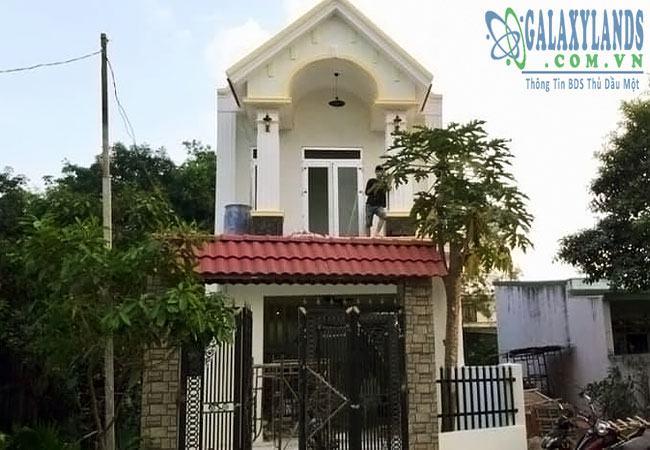 Bán nhà đường DX27 phường Phú Mỹ, Tp. Thủ Dầu Một, Bình Dương