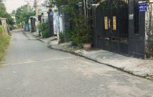 Bán đất khu 8 phường Phú Hòa hẻm karaoke Sunny.