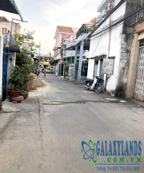 Đường hẻm Phú Lợi, tp. Thủ Dầu Một Bình Dương