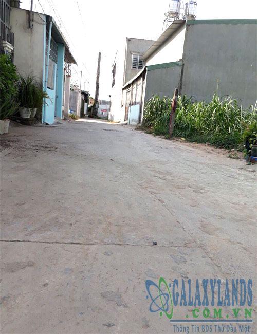 Bán đất hẻm 322 phường Phú Lợi