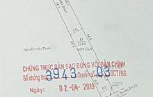Bán đất mặt tiền chợ Bình Điềm Phú Hòa diện tích 5x44m