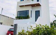 Bán nhà 1 trệt 1 lầu mặt tiền DX48 Phú Mỹ, xây mới 100%