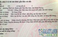 Bán đất 5,6x29m hẻm Karaoke The Voice, Phú Lợi