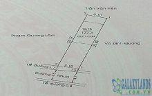 Bán đất 5.1x24m hẻm 220 Huỳnh Văn Lũy phường Phú Lợi.
