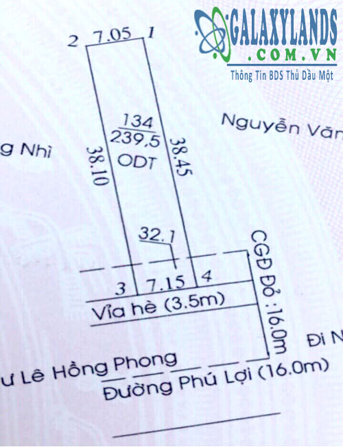 Bán nhà đường Phú Lợi DT743 Thủ Dầu Một