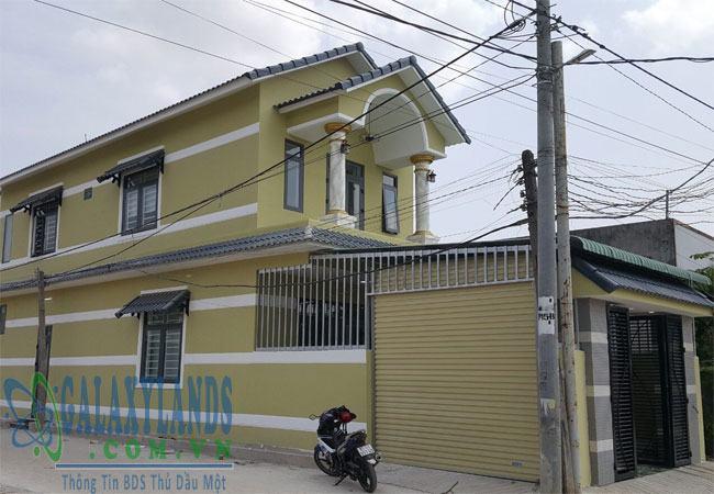 Bán nhà khu phố 9 Phú Hòa.