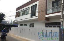 Bán nhà 1 trệt 1 lầu, 2 mặt tiền khu 7 Phú Lợi.