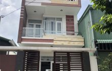 Bán nhà 1 trệt 2 lầu đường D2 khu dân cư Phú Hòa 1.