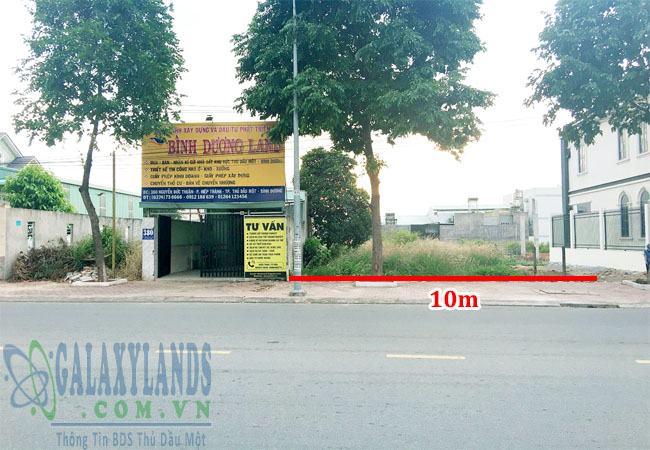 Bán đất mặt tiền đường Nguyễn Đức Thuận, Hiệp Thành, Thủ Dầu Một, Bình Dương