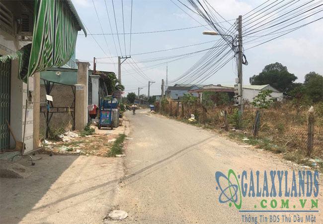 Bán đất Phú Hòa ngay sau báo Bình Dương