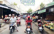 Bán đất mặt tiền Chợ Phú Hòa, 5x38m, 182m2, thổ cư 80m2