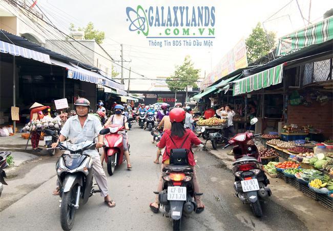 Bán đất chợ Phú Hòa, Thủ Dầu Một, Bình Dương