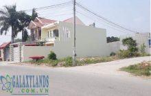 Bán đất đường DX13 Phú Mỹ lô góc 2 mặt tiền đường không trừ lộ giới.