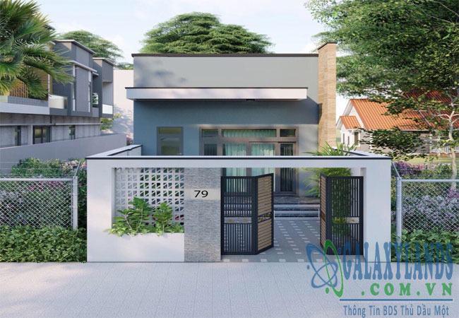 Bán nhà đường DX13 Phú Mỹ Thủ Dầu Một