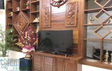 Bán nhà hẻm 220 Huỳnh Văn Lũy Phú Lợi 7×22.3m nội thất gỗ sang trọng.