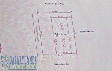 Bán đất hẻm 242 Nguyễn Đức Thuận diện tích 31.5x25m.