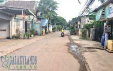 Bán đất  hẻm 93 Nguyễn Thị Minh Khai diện tích 5.5x38m.