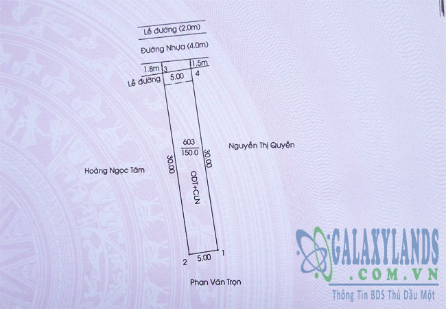 Bán đất hẻm 93 Nguyễn Thị Minh Khai, Phú Hòa, Thủ Dầu Một, Bình Dương