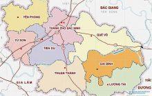 Bản đồ Bắc Ninh | Bản đồ hành chính tỉnh Bắc Ninh Full HD