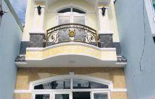 Bán nhà hẻm 242 Nguyễn Đức Thuận 1 trệt 1 lầu xây chắc chắn.