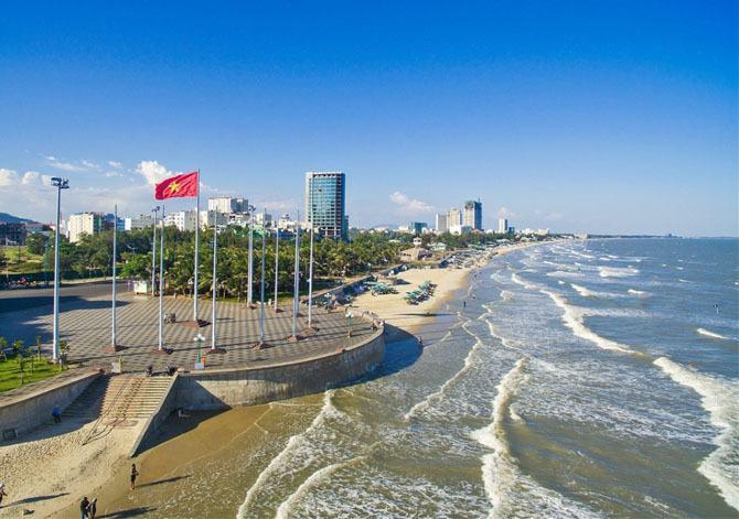 Bãi biển thành phố Vũng Tàu